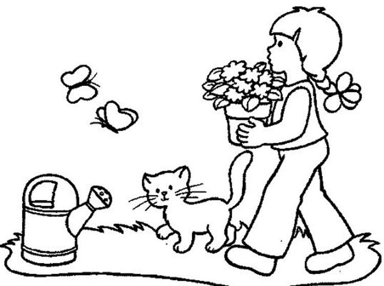 4 Seasons Colouring Sheets : Therapy for children. hope coloring pages