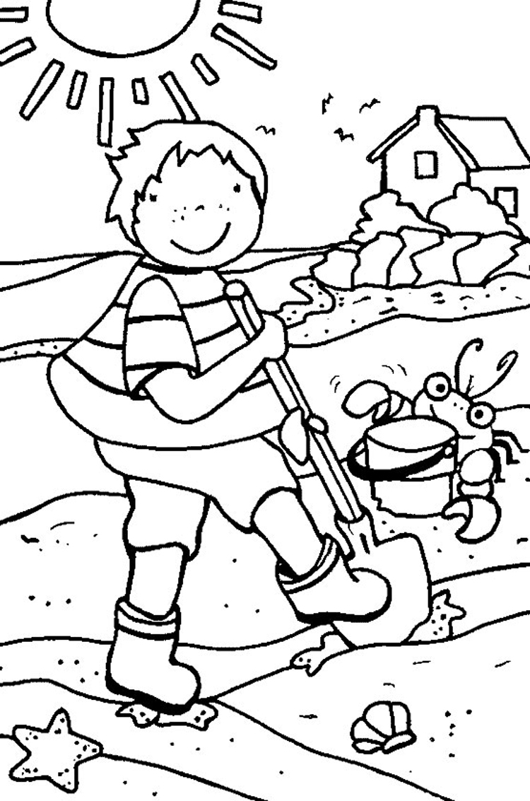 Coloring Pages Summer 2