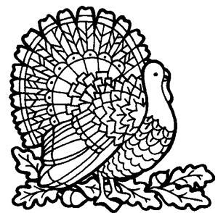 Coloring Thanksgiving Pages | Coloring Print Out Pages