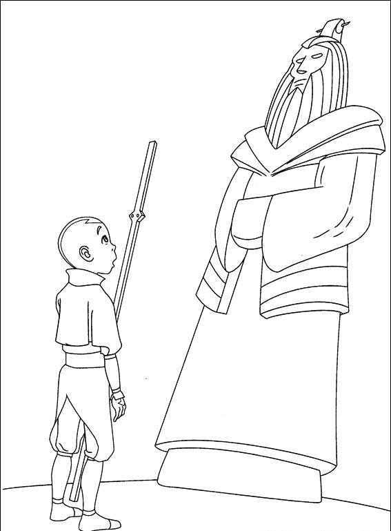 Avatar The Last Airbender Coloring Pages 3