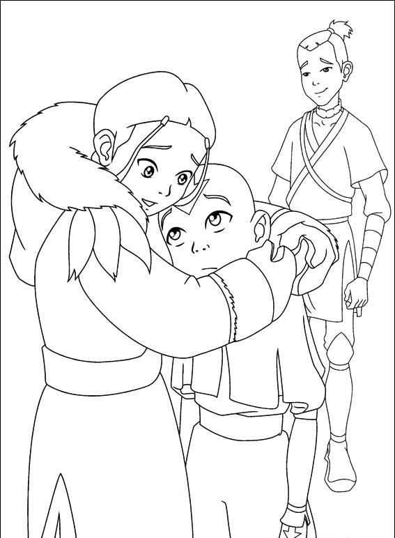 Avatar The Last Airbender Coloring Pages 5