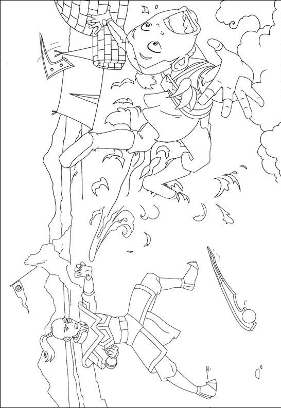 Avatar The Last Airbender Coloring Pages 9