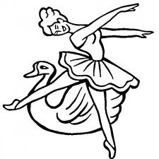 Barbie of Swan Lake Free Coloring Printable 3