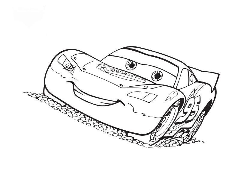 Cars Coloring Pages 4