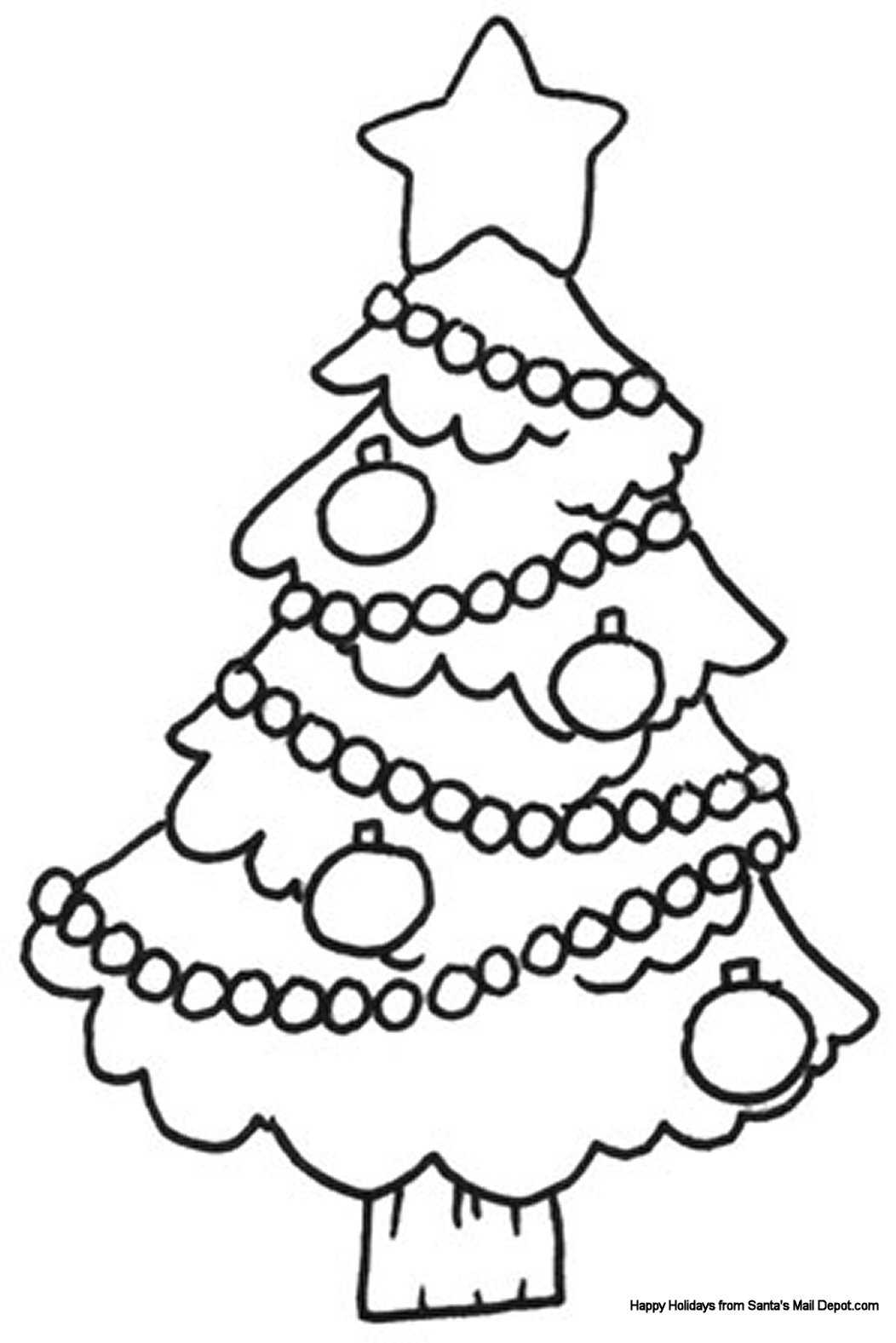 christmas coloring page on pinterest