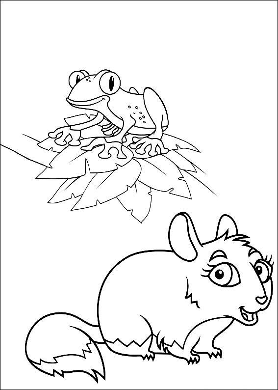 Diego Coloring Pages 1