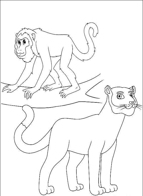Diego Coloring Pages 3