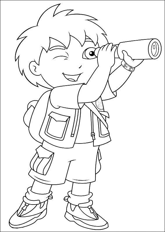 Diego Coloring Pages 4