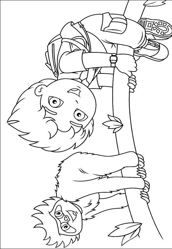 Diego Coloring Pages 6