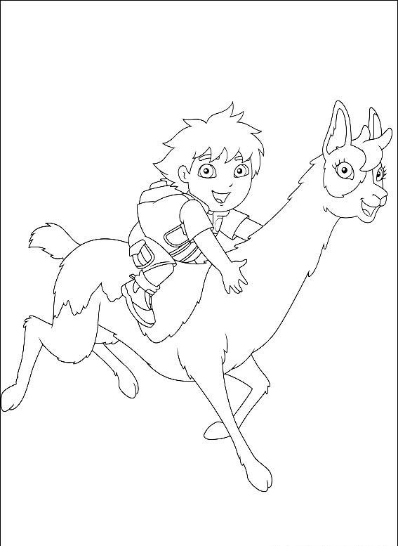 Diego Coloring Pages 7