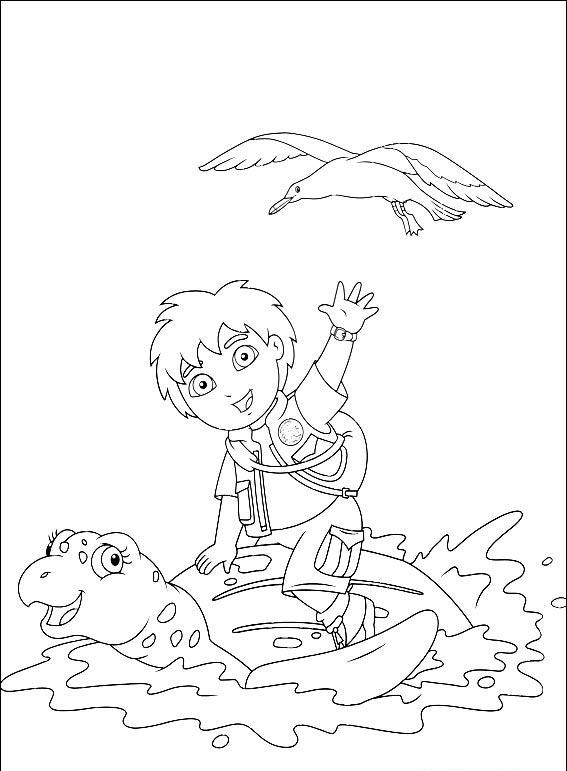 Diego Coloring Pages 9