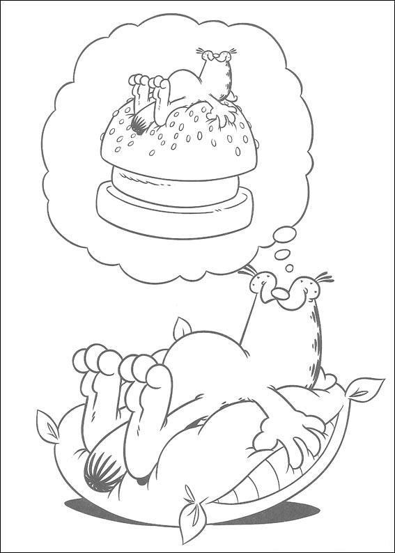 Garfield Coloring Pages 2