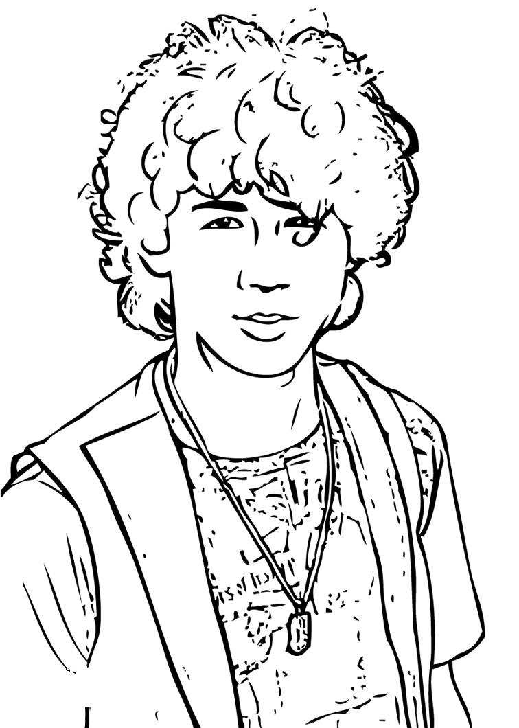 Hannah Montana Coloring Pages 2
