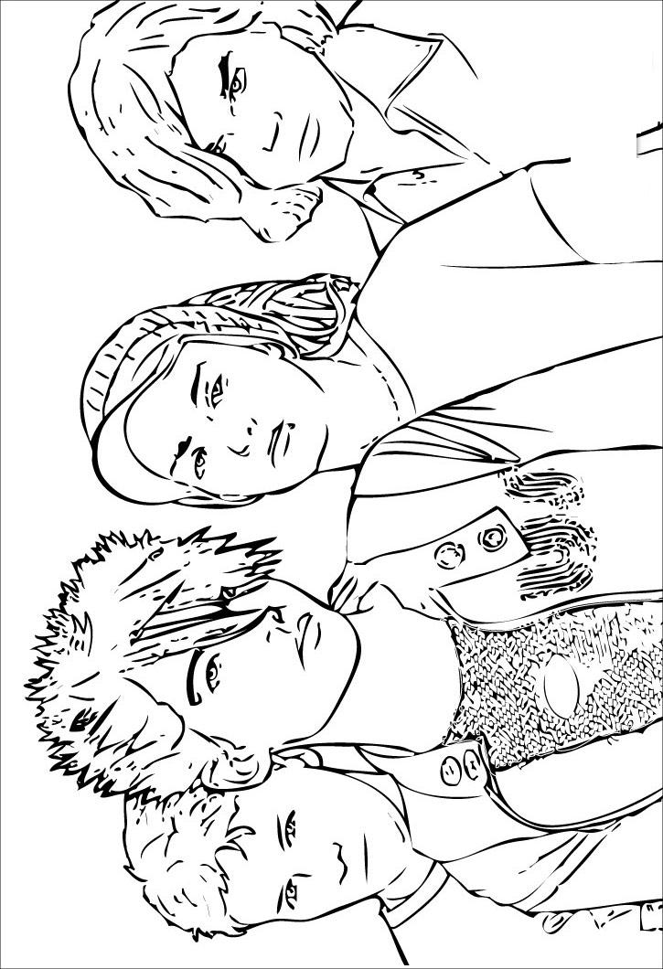 Hannah Montana Coloring Pages 4