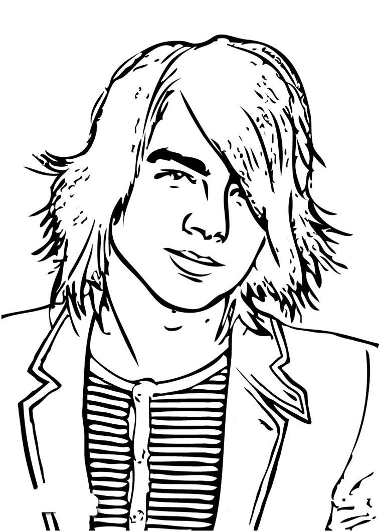 Hannah Montana Coloring Pages 7
