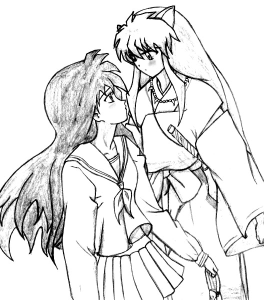 Inuyasha The Final Act Free Coloring Printable 5