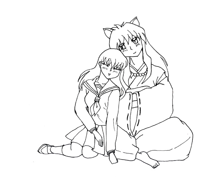 Inuyasha The Final Act Free Coloring Printable 6