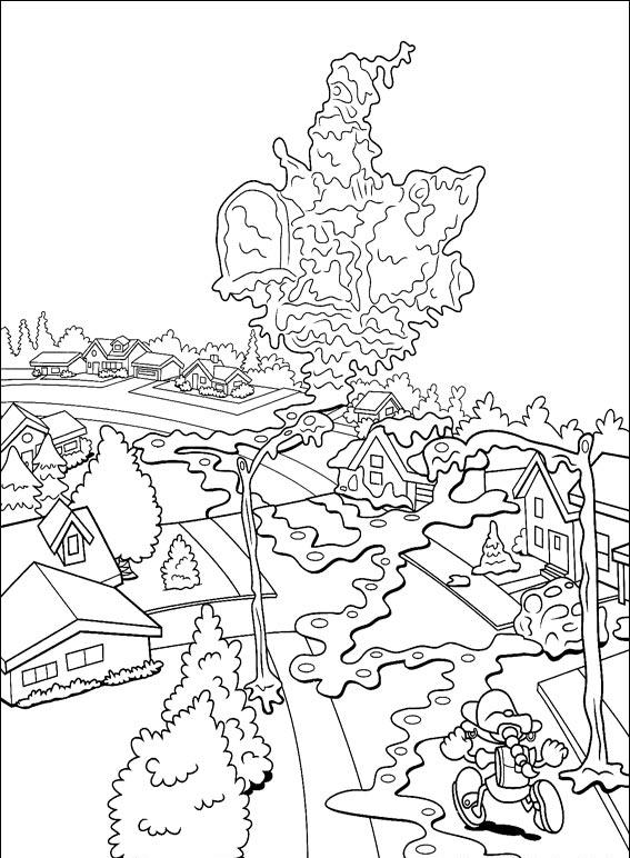 Kids Next Door Coloring Pages 1