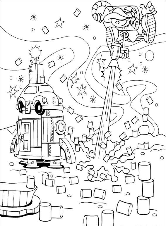 Kids Next Door Coloring Pages 3