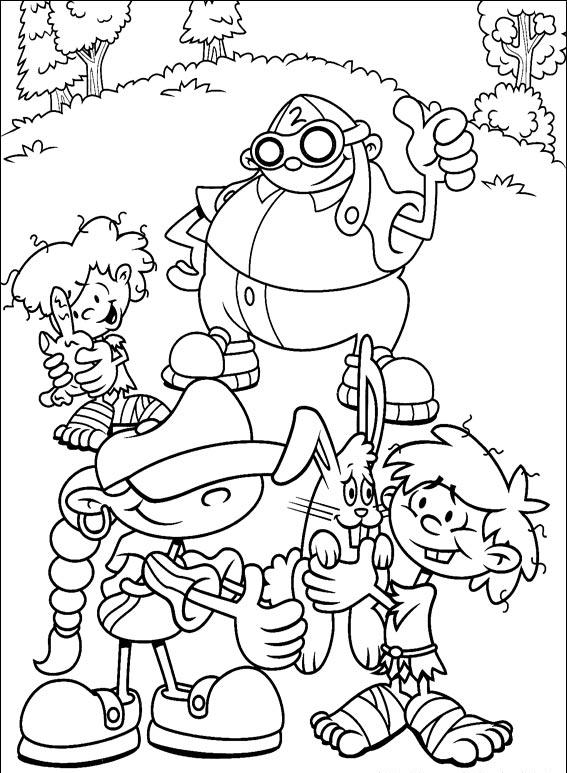 Kids Next Door Coloring Pages 4