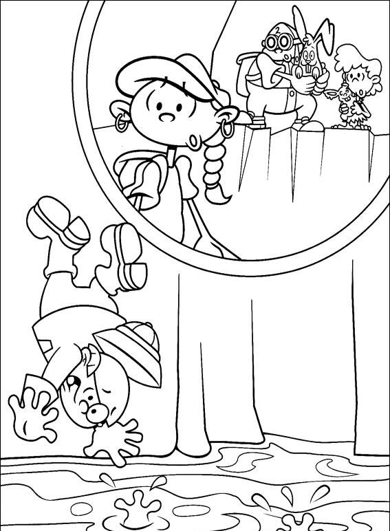 Kids Next Door Coloring Pages 6