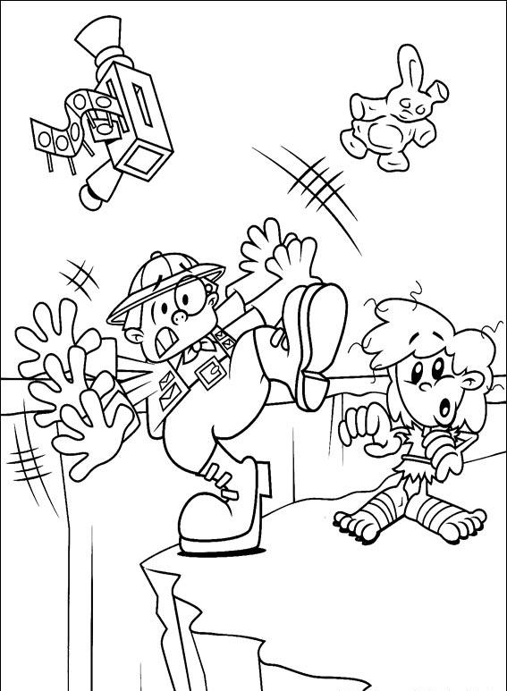 Kids Next Door Coloring Pages 7