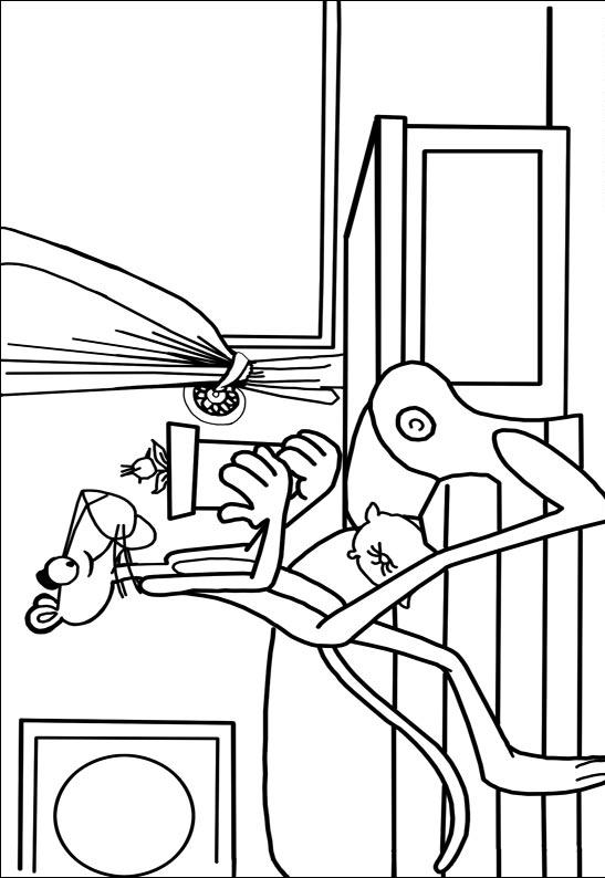 Pink Panther Coloring Pages 4