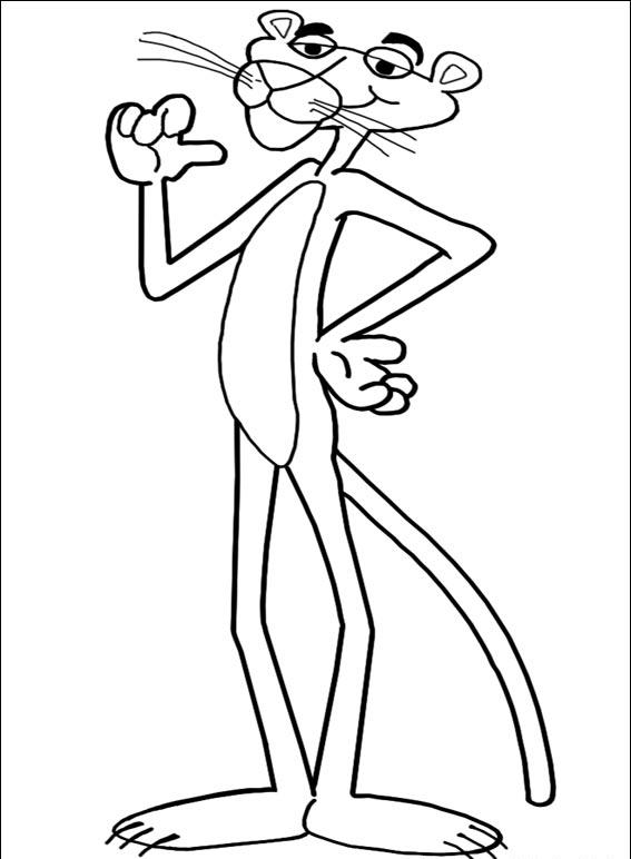Pink Panther Coloring Pages 5