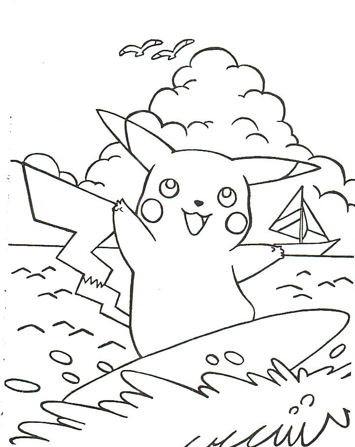 Pokemon Coloring 4