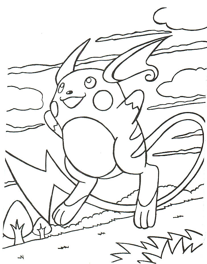 Pokemon Coloring 6