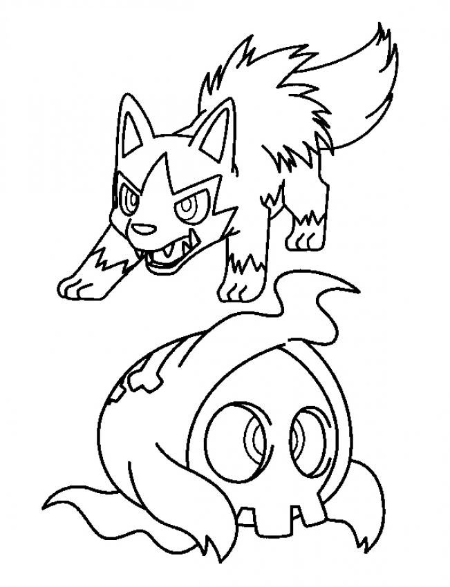 Pokemon Coloring 10