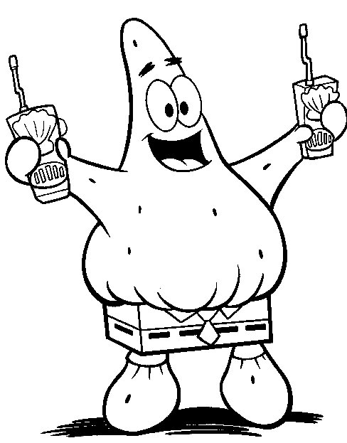Spongebob Squarepants Coloring Pages 9