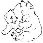 Bear Coloring Page 9