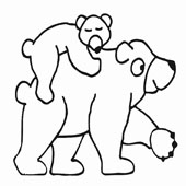 Bear Coloring Page 11