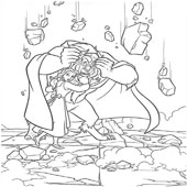 Belle Coloring Pages 15