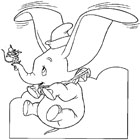 Dumbo Coloring 3