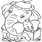 Dumbo Coloring 5