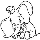 Dumbo Coloring 6