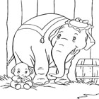 Dumbo Coloring 8