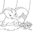 Dumbo Coloring 12