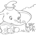 Dumbo Coloring 13