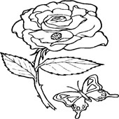 Flower Coloring Page 11
